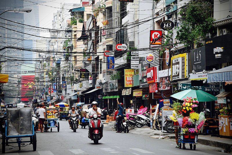 Pham Ngu Lao, loger à Ho Chi Minh Ville