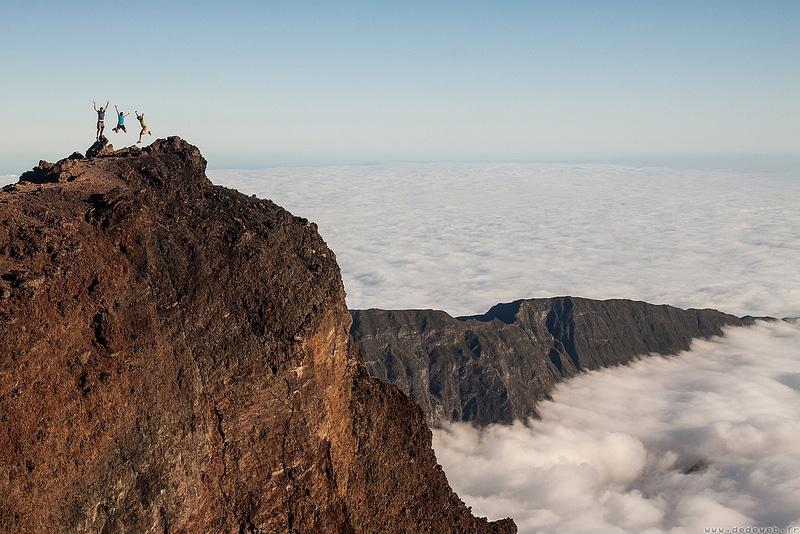 Piton des neiges, loger à La Réunion