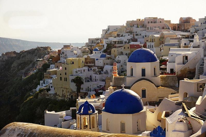 Santorin, visiter les Cyclades