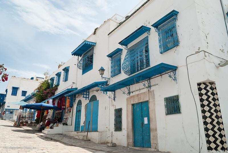 Sidi Bou Said, loger à Tunis