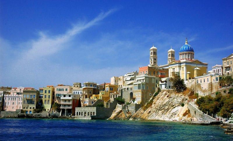 Île Syros, Cyclades, Grèce