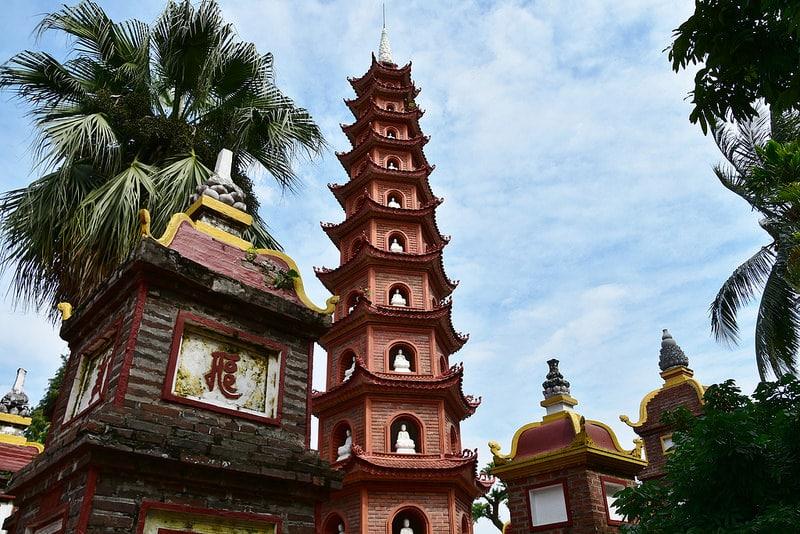 Tay Ho, loger à Hanoï