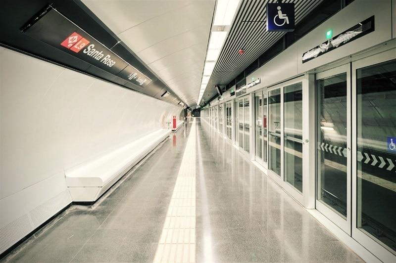 Transfert aéroport Barcelone, Métro