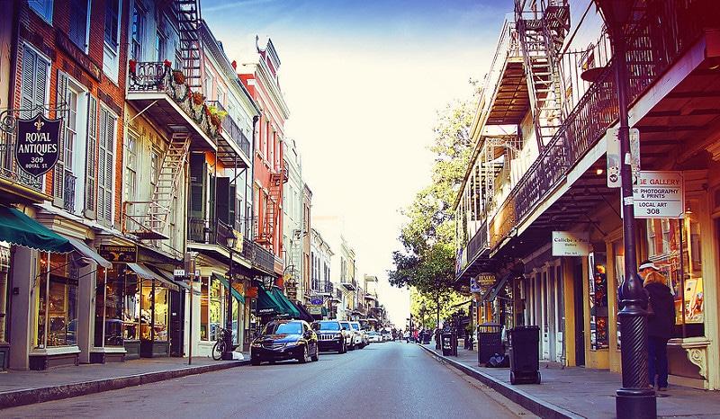 Vieux-carré, loger à La Nouvelle-Orléans