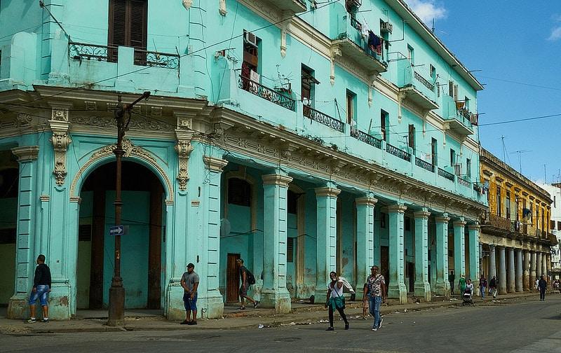 Vieux-centre, loger à La Havane