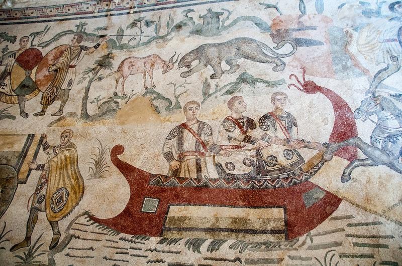 Villa romaine du Casale, Sicile