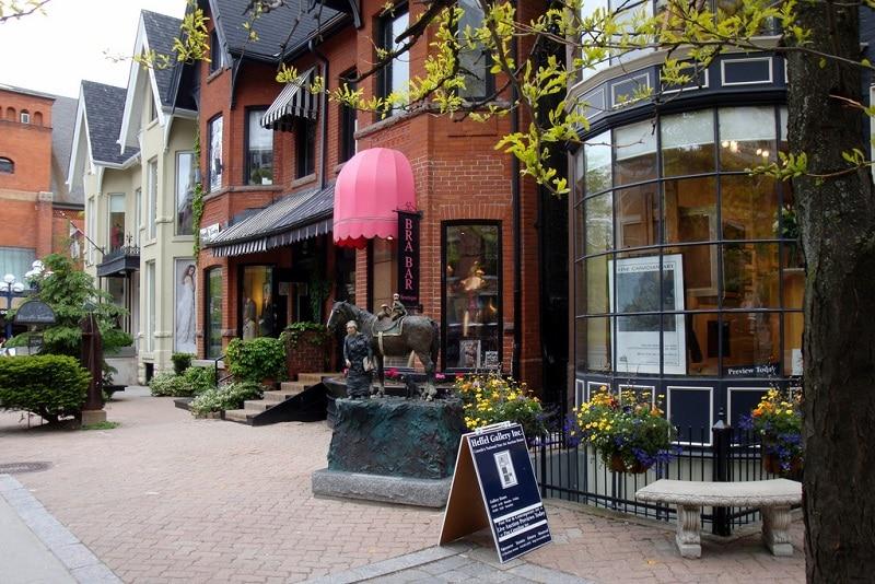 Yorkville, loger à Toronto