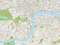 Carte et Plan de Londres