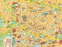 Carte et Plan de Madrid