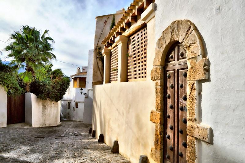 Ibiza, Loger à Ibiza