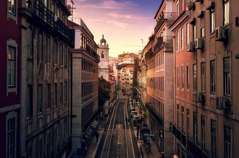 Lisbonne, parking payant et sécurisé