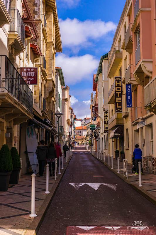 Beaurivage, Loger à Biarritz