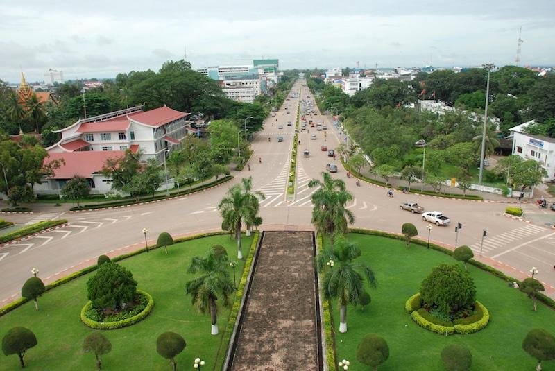 Loger à Vientiane, Hors Centre