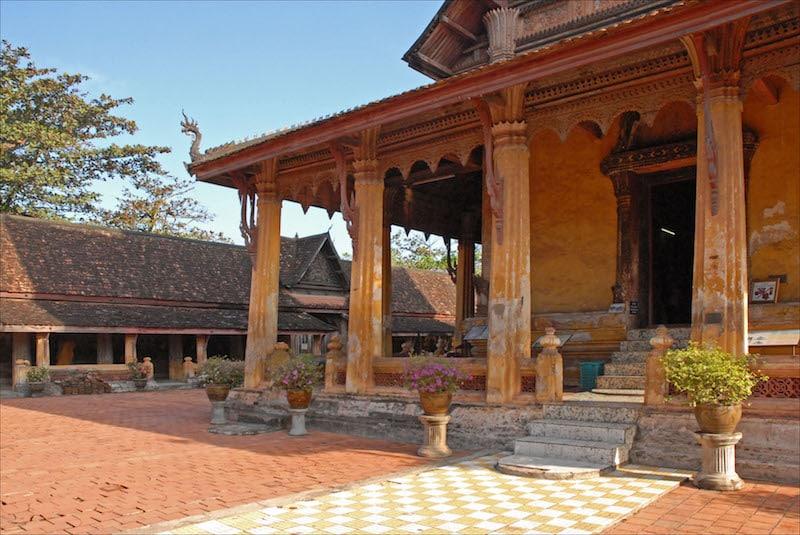 Loger à Vientianne, Centre