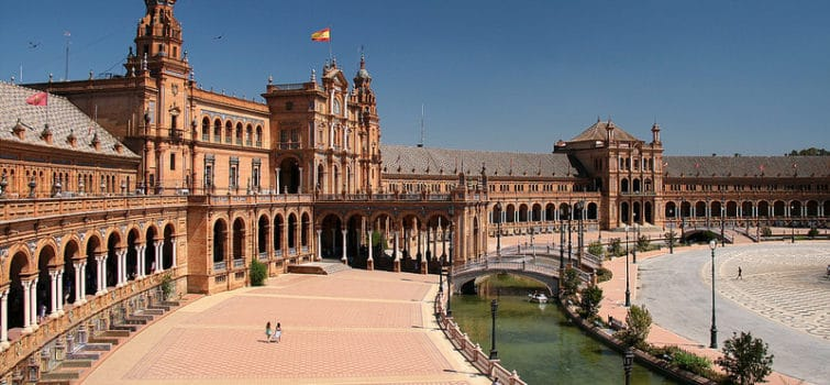 Plaza de España, Séville