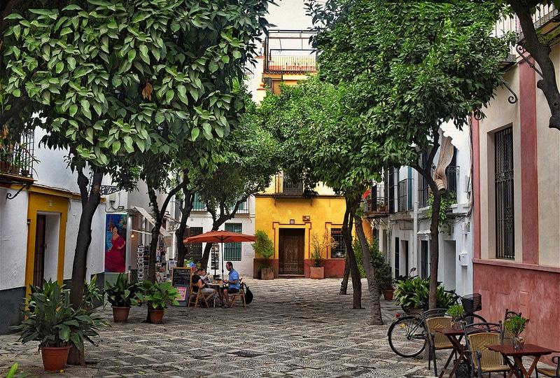 Santa Cruz, Séville