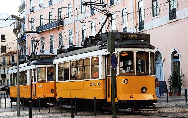 Tramway à Lisbonne, transports