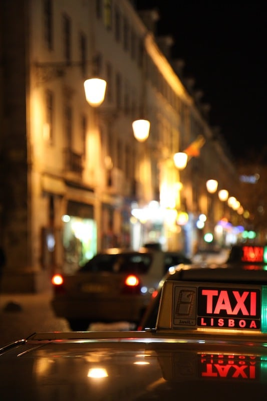 Taxi Transport Lisbonne