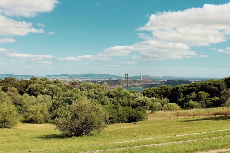 Itinéraire Vélo Lisbonne, Monsanto Parc
