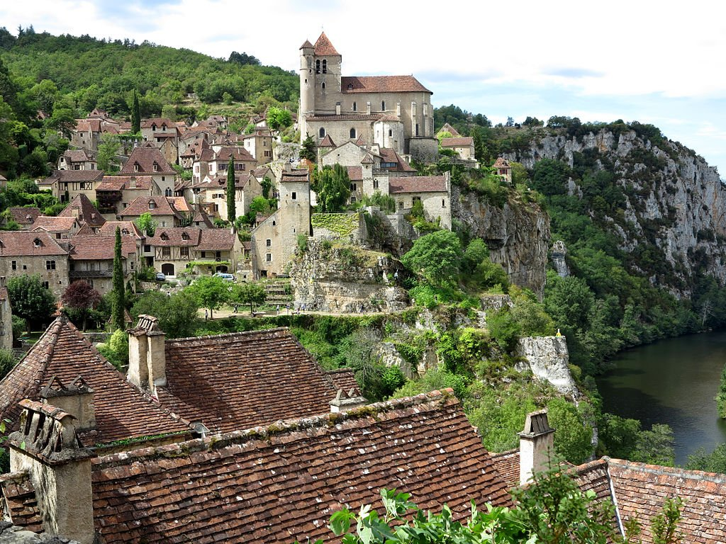 Village France 14, Saint Cirq Lapopie
