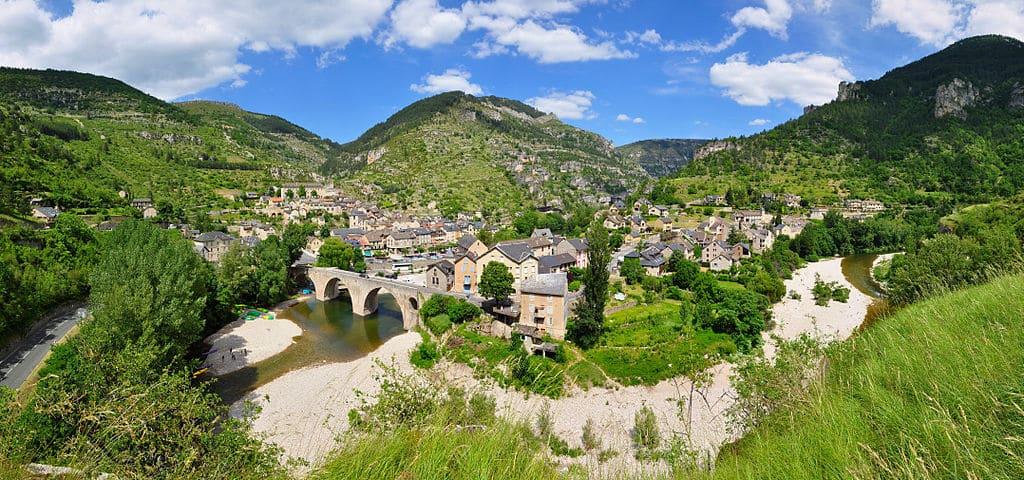 Village France 9, Saint Enimie
