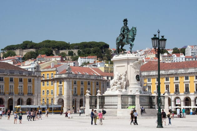 Guide du quartier de la Baixa à Lisbonne