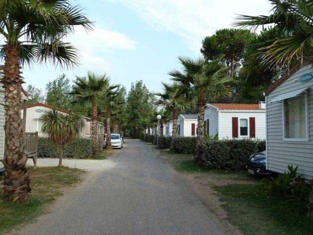 8 campings où loger à Vias