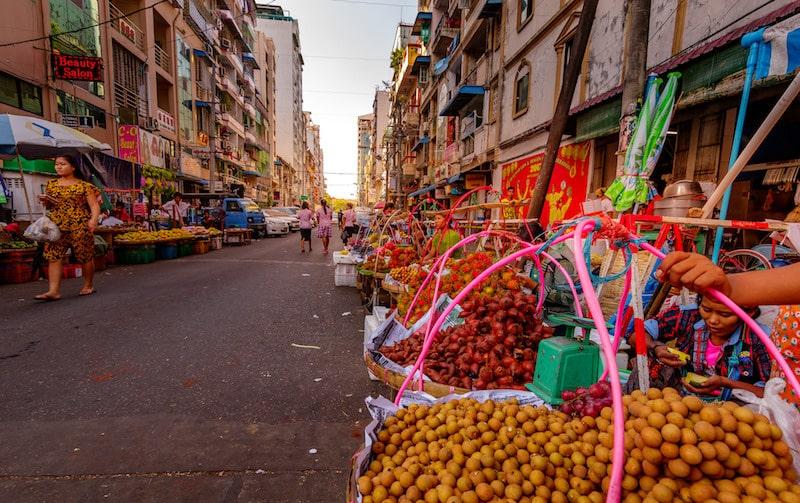 Loger à Rangoun, dans le Centre