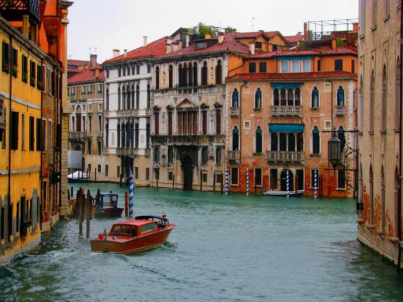 Parking gratuit à Venise