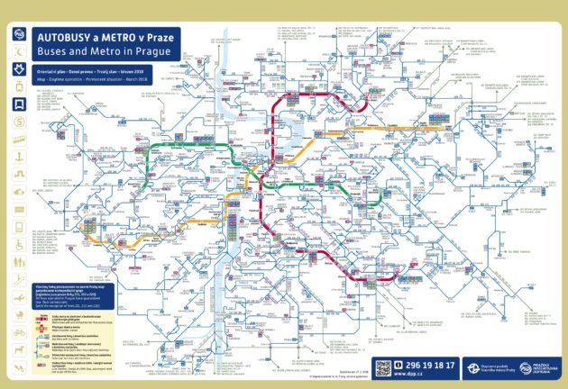 Plan & Carte Prague Bus