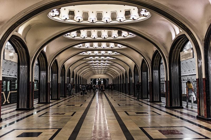 Station de métro, Moscou