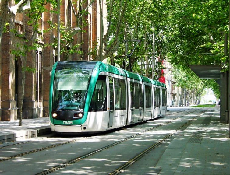 Tram à Barcelone