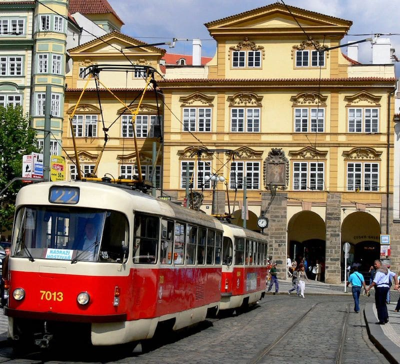Transport Tram Prague