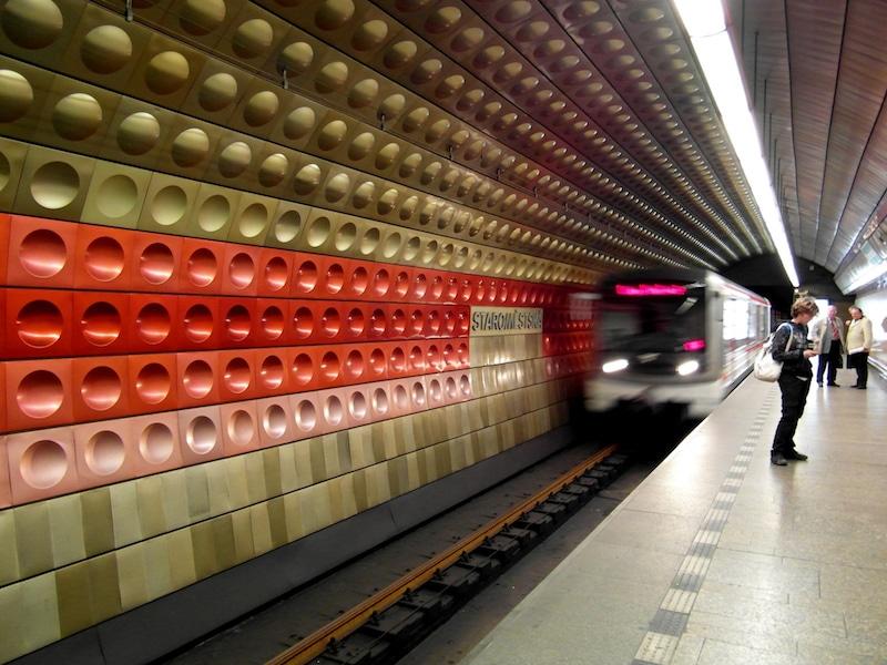 Transport Métro à Prague