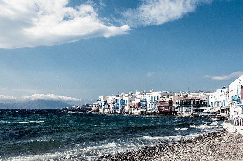 Alefkandra, loger à Mykonos