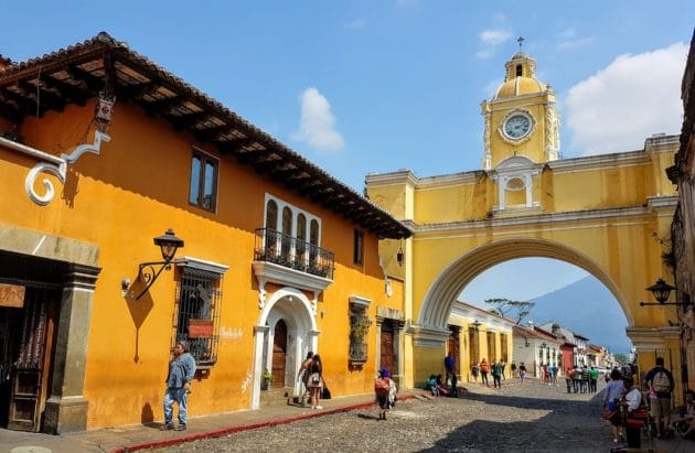 La ville d'Antigua
