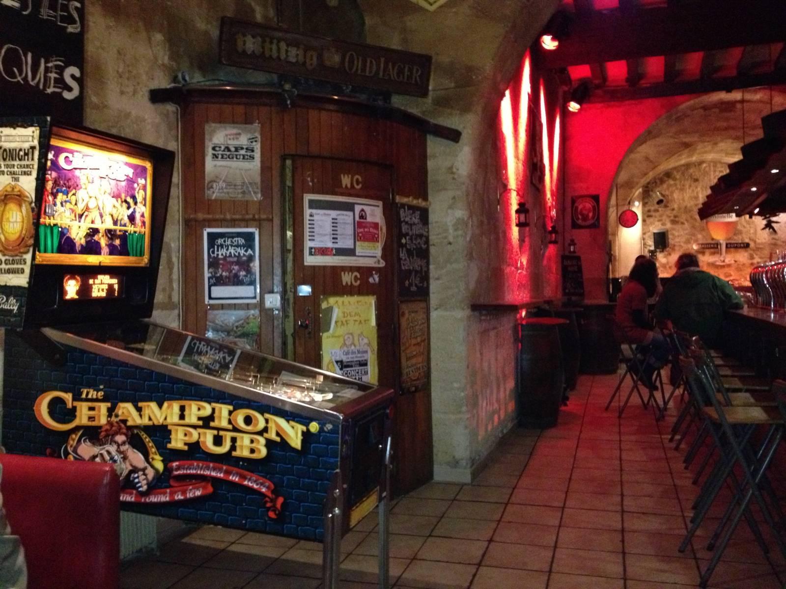 Bar à Bières à Bordeaux, Le Café des Moines