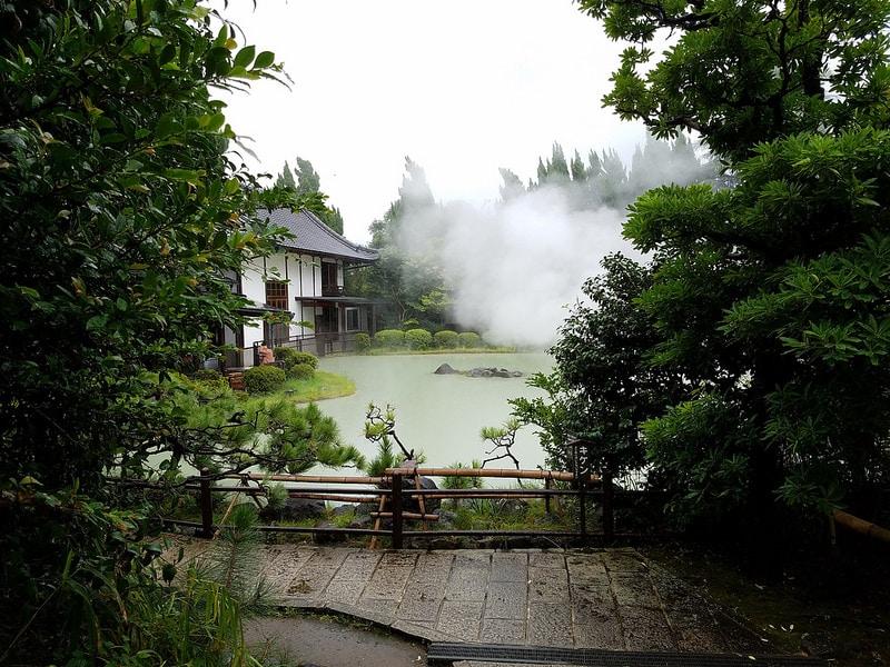 Beppu, loger à Oita