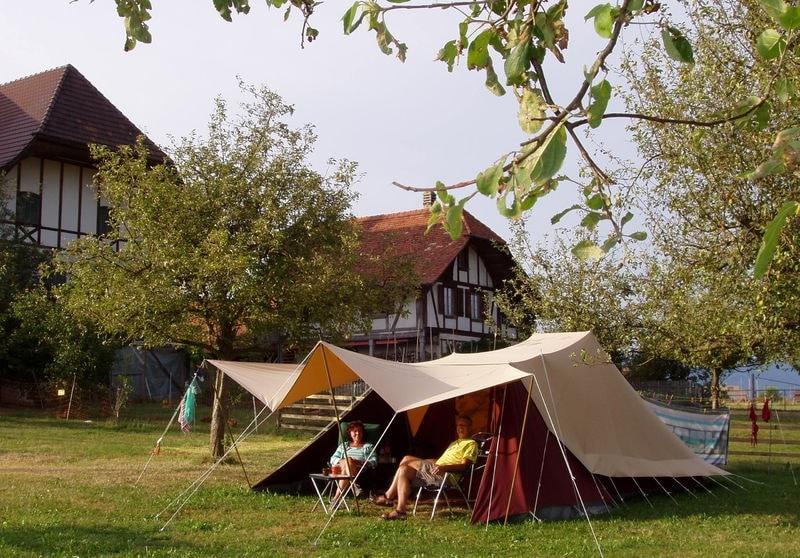 Camping Lindenhof, Suisse
