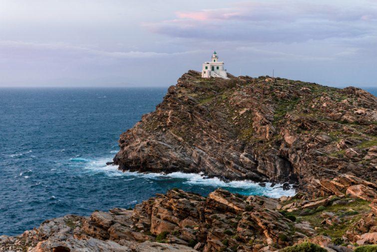 Cap Korakas, phare de Paros