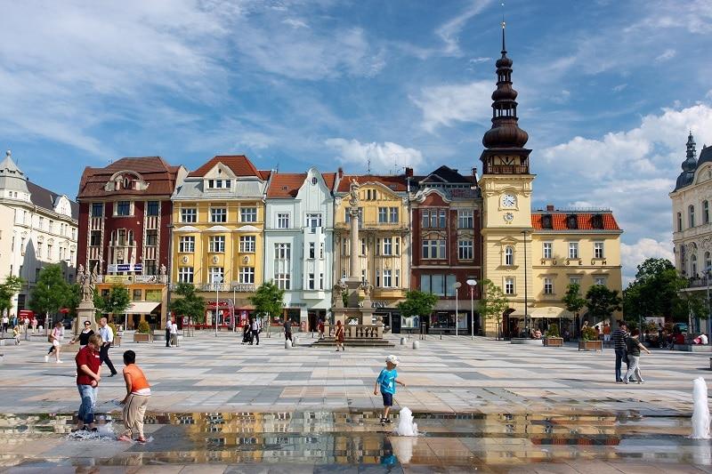 Centre, loger à Ostrava