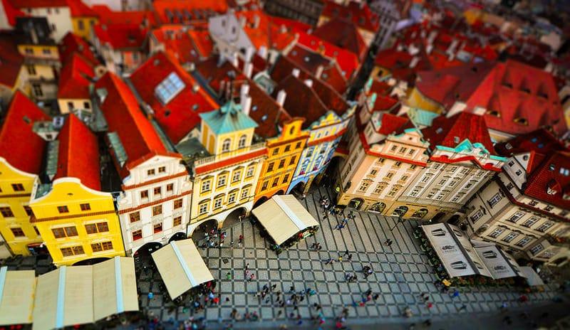Changer de l'argent à Prague