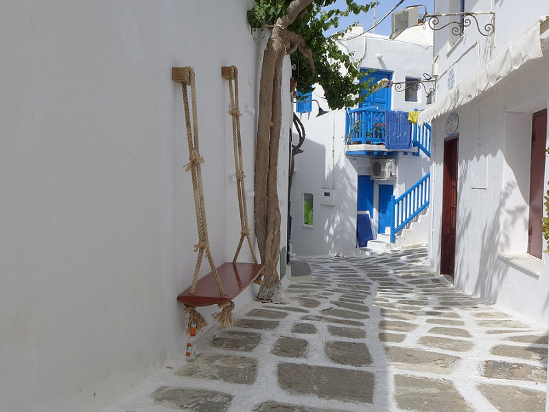 Chora, loger à Mykonos