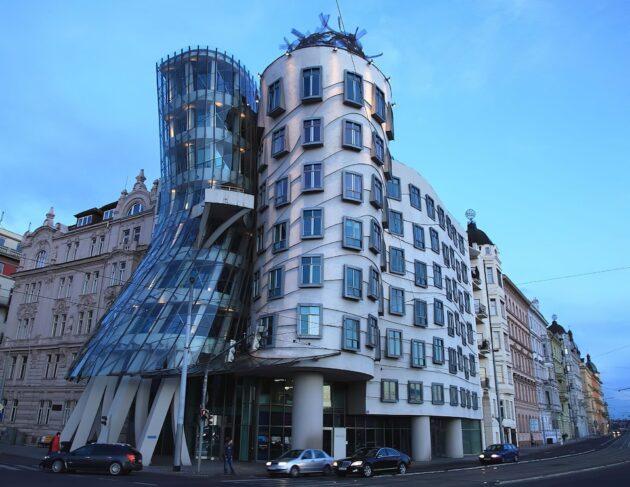 La maison dansante de Frank Gehry à Prague