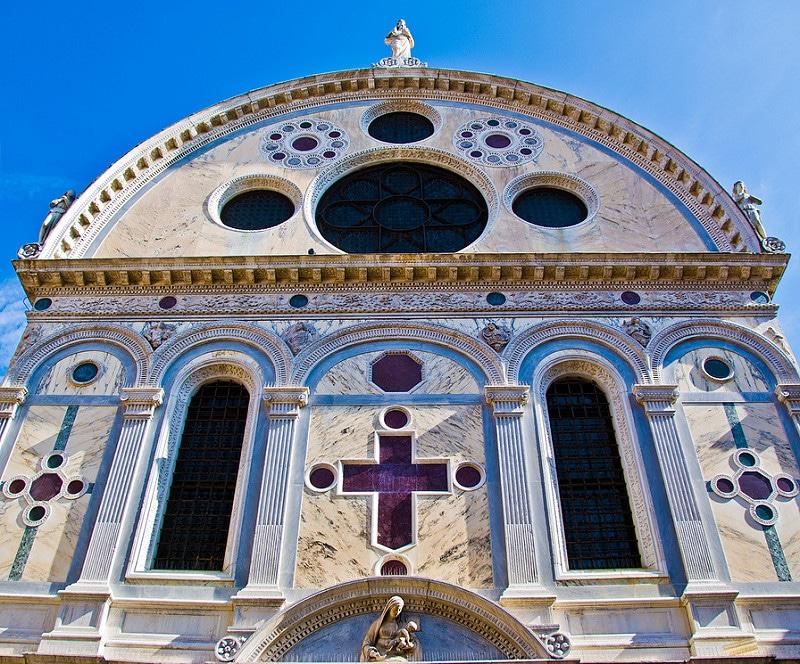 Visiter Venise en dehors des sentiers battus: Eglise Santa Maria Dei Miracolli