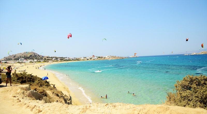 Les 7 choses à faire à Naxos, Voile