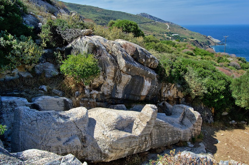 Les 7 choses à faire à Naxos, Kouros