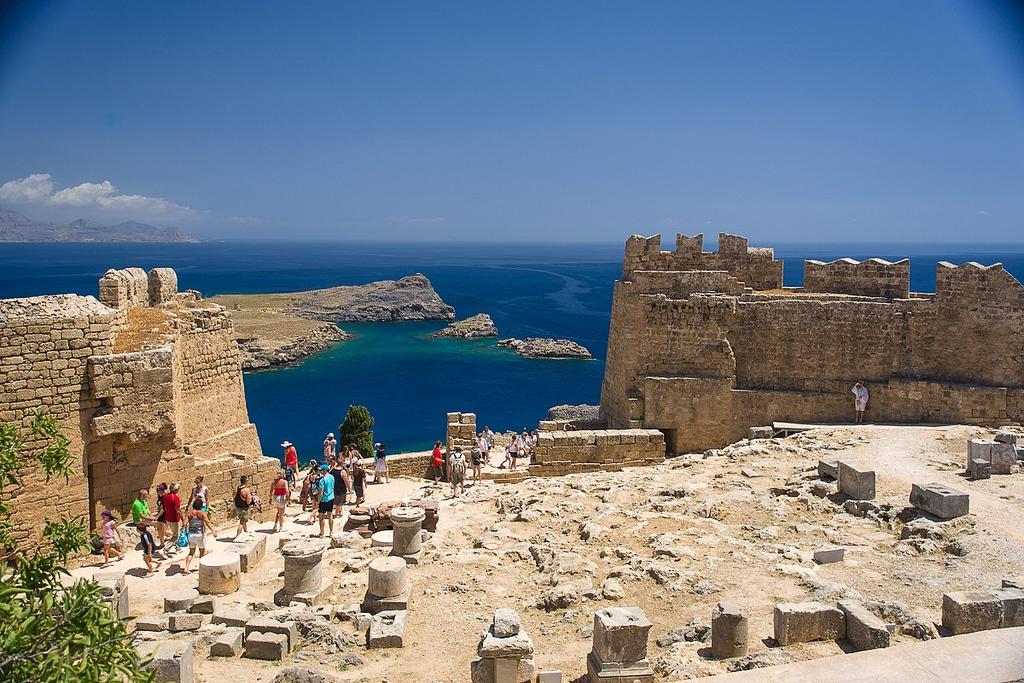Îles grecques, Rhodes