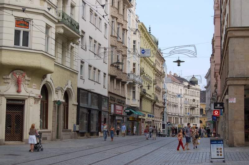 Loger à Brno, Centre