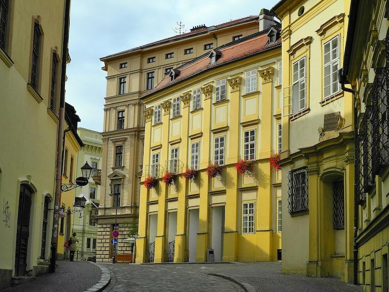Loger à Brno, Mesto